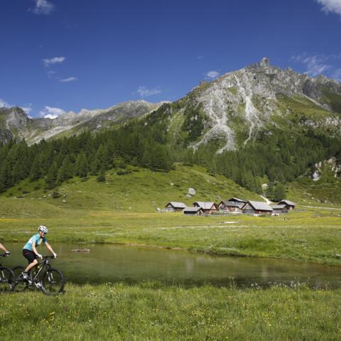 Mountainbiken in Ramsau